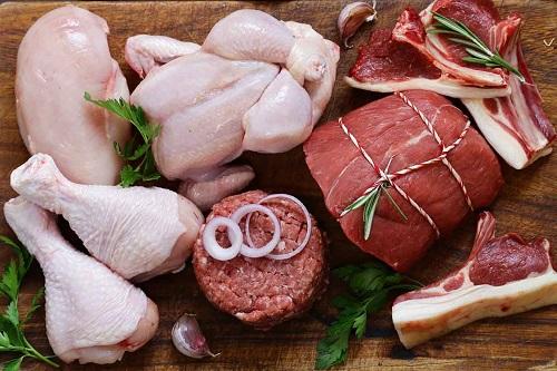 گوشت سفید و گوشت قرمز