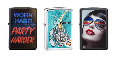 طرح های مختلف فندک زیپو